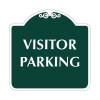 "Visitor Parking Sign 18"" x 18"""