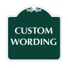 "Custom Wording Sign 18"" x 18"""