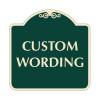 "Custom Wording Sign 24"" x 24"""