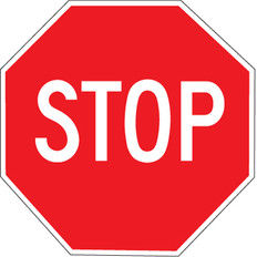"""Stop Sign - 24"""""""