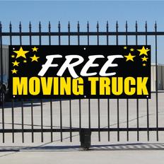 Free Moving Truck Banner - Celebration