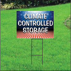 Climate Controlled Self Storage Sign - Patriotic