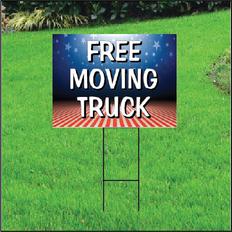 Free Moving Truck Self Storage Yard Sign - Patriotic