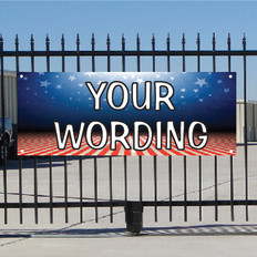 Semi Custom Banner - Patriotic