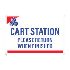 Devon Cart Station Sign