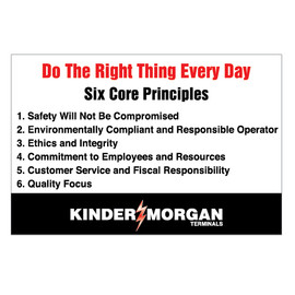 Do The Right Thing Everyday Signs