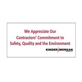 Contractor Banner 3' x 5'