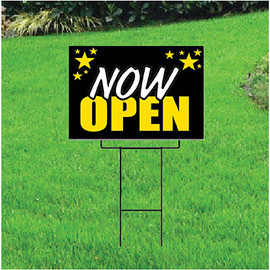 Now Open Self Storage Sign - Celebration