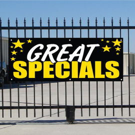 Great Specials Banner - Celebration