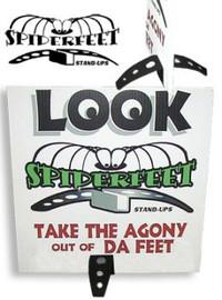 """Spider Feet 1/4"""""""