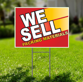 We Sell Packing Materials  for Self Storage -  Dash In