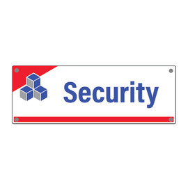 Devon Self Storage Security Sign
