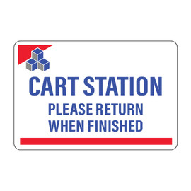 Devon Cart Station Sign