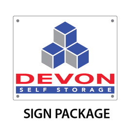 Devon Self Storage Sign Package