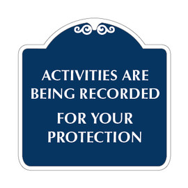 "Security Sign 18"" x 18"""
