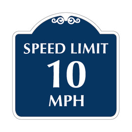"Speed Limit Sign 18"" x 18"""