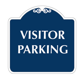 "Visitor Parking Sign 18"" x 18"""