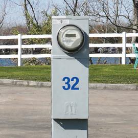 RV Park Site Number Decals