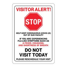 Visitor Alert Signs