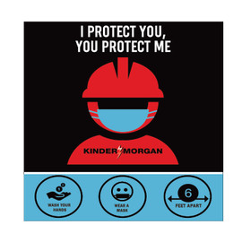 I Protect You, You Protect Me Sign