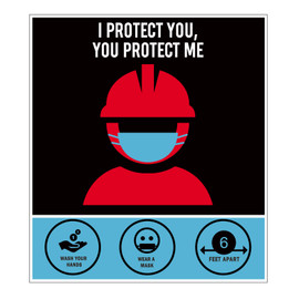 I Protect You, You Protect Me Signs