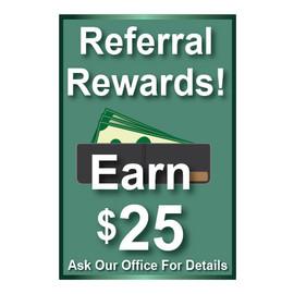 Referral Rewards Signs
