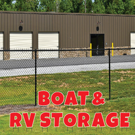 Yard Letters - Boat & RV Storage Available