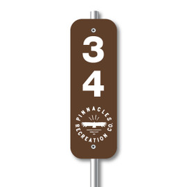 RV Park Heavy Duty Reflective Site Signs