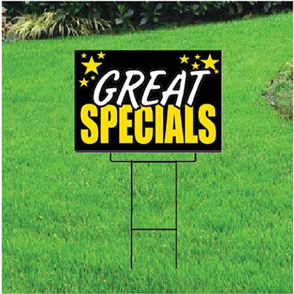 Great Specials Self Storage Sign - Celebration