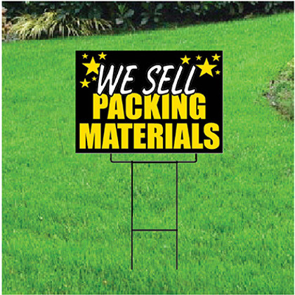 We Sell Packing Materials Self Storage Sign - Celebration