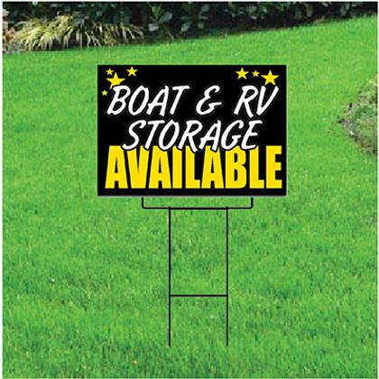 Boat & RV Storage Self Storage Sign - Celebration