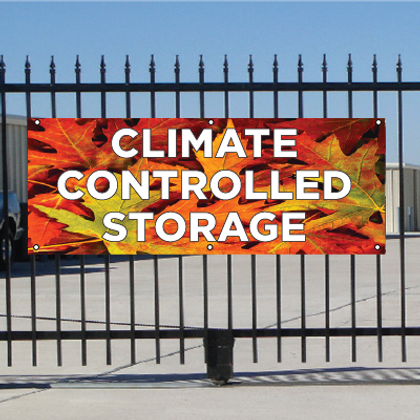 Climate Controlled Storage Banner - Fall