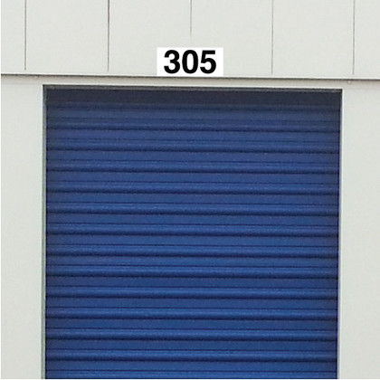 Self Storage Unit Plaque