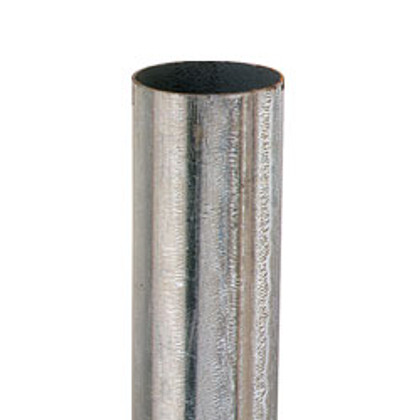 Round Pipe Post - 7' tall