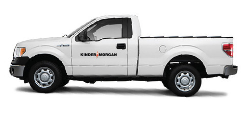 Kinder Morgan Truck Decals