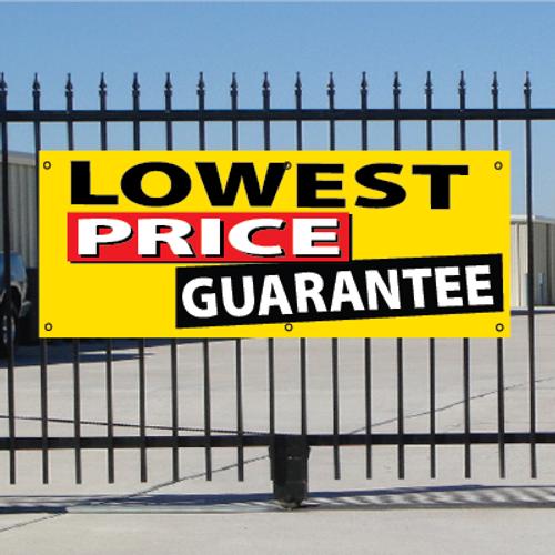 Lowest Price Guarantee Banner - Festive