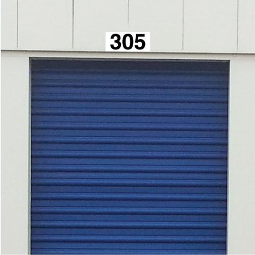 Self Storage Unit Plaque