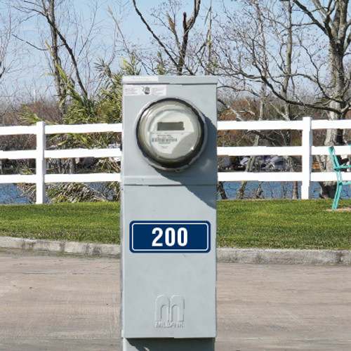 RV Park Site Number Signs