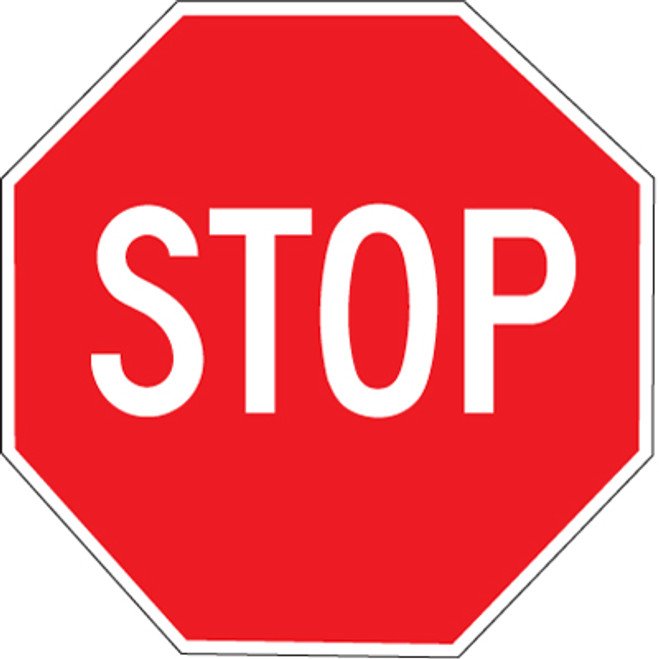 """Stop Sign - 18"""""""