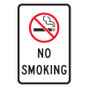 "No Smoking Sign - 12"" x 18"""