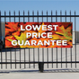 Lowest Price Guarantee Banner - Fall