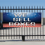 We Sell Boxes Banner - Patriotic