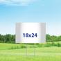 "18"" x 24"" Yard Signs - Single Sided"