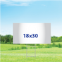 "18"" x 30"" Yard Signs - Single Sided"