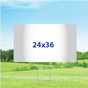 "24"" x 36"" Yard Signs - Single Sided"
