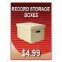 Record Storage Boxes Sign