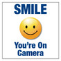 Smile You Are On Camera Sign