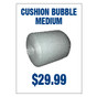 Cushion Bubble Medium Sign