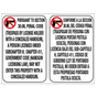 No Concealed Carry 30.06 Signs
