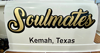soulmates-gold-leaf-boat-name-kemah-texas.jpg